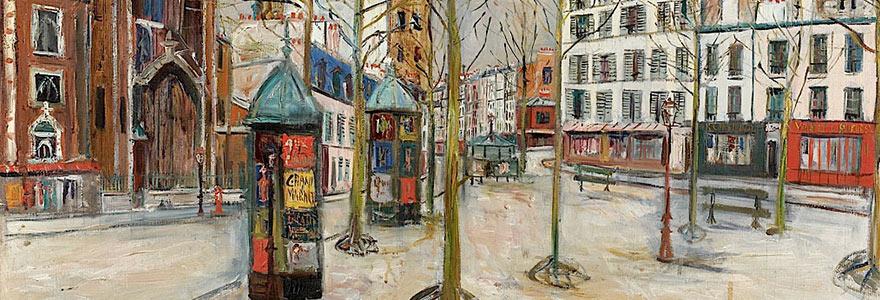 peintre des années 20
