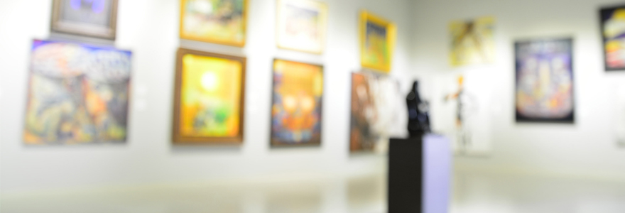 peintures et sculptures contemporaines